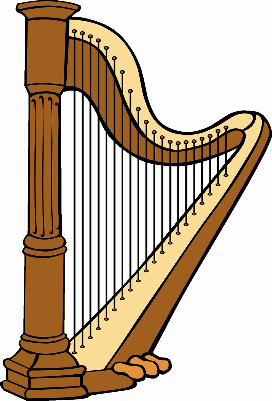 Harfa je název dalšího obrázku resp klipartu vyberte si