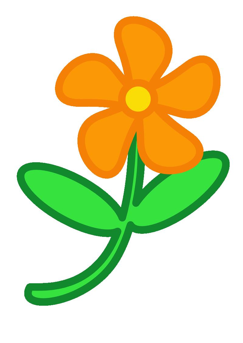 Další pěkný obrázek je klipart s pojmenovaný květina