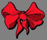 Červená mašle