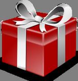 Červený dárek