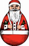 Houpací Santa