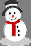 Jednoduchý sněhulák