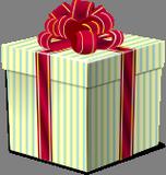 Krabice s dárkem