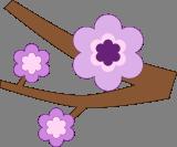 Květ na stromě