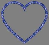 Modré srdce