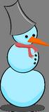 Modrý sněhulák