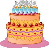 Narozeninový dort - Nacházíte se na stránce, která obsahuje vektorový obrázek nazvaný Narozeninový dort. Chcete-li si obrázek uložit k dalšímu použití, zvolte si vhodný formát souboru.Nejlepší volbou je soubor typu .svg, ověřte si ale zda software , ve kterémbudete klipart zpracovávat (využívat) tento formát podporuje. Náš tip. Použijte obrázek Narozeninový dort v textovém dokumentu v programu Writer z balíku Open Office, který je zdarma stejně jako tento obrázek.