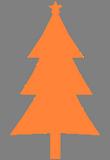 Oranžový stromek
