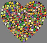 Ovocné srdíčko