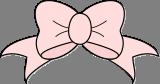 Růžová mašle