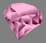 Růžový drahokam