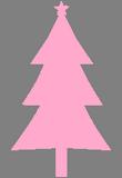 Růžový stromek
