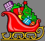 Sáně s dárky