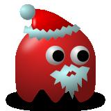 Santa - pacman