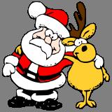 Santa se sobem