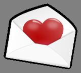 Srdce v obálce