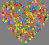 Srdce z čísel