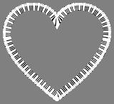 Srdce z kláves