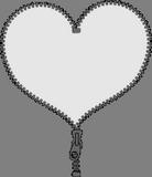 Srdce ze zipu