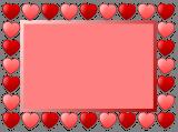 Srdcový rámeček