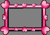 Srdíčkový rámeček