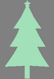Světlezelený strom