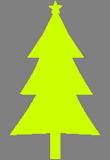 Světlezelený stromek