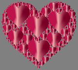 Valentýnská srdce