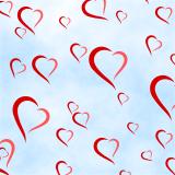 Valentýnské pozadí