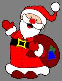 Veselý Santa