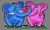 Zamilovaní sloni