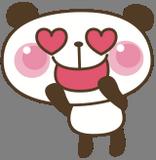 Zamilovaný panda