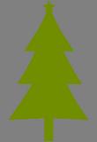 Zelený stromeček
