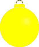 Žlutá ozdoba