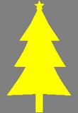 Žlutý stromeček