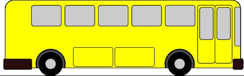 Vektorový obrázek, ilustrační klipart Autobus zdarma ke stažení, Doprava vektor do vašich dokumentů