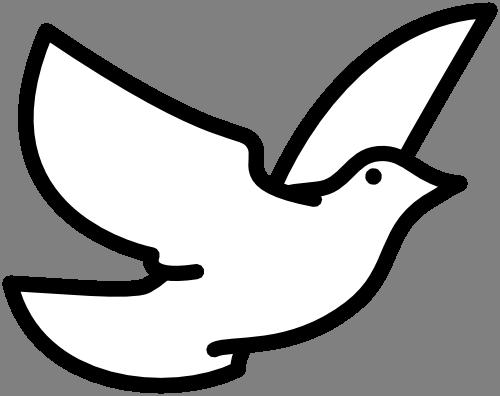Ilustracni Obrazek Klipart Holubice Ptaci Zdarma Ke Stazeni