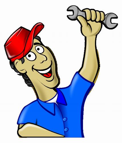 Vektorový obrázek, ilustrační klipart Mechanik zdarma ke stažení, Muži vektor do vašich dokumentů