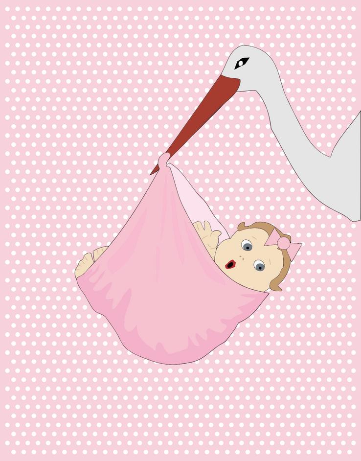 Přání k narození dítěte, romantika, láska - dítě přáníčko